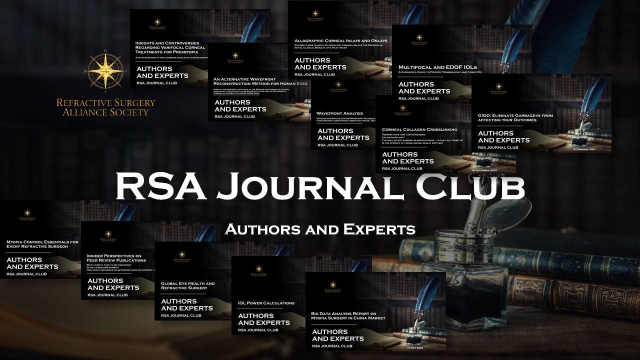 RSA Journal Club Library of Talks